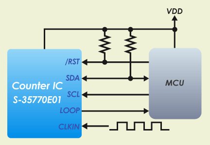 Circuit connection example